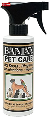 Sherbon-Bannixx Banixx Pet Care for Fungal & Bacterial Infections 8oz