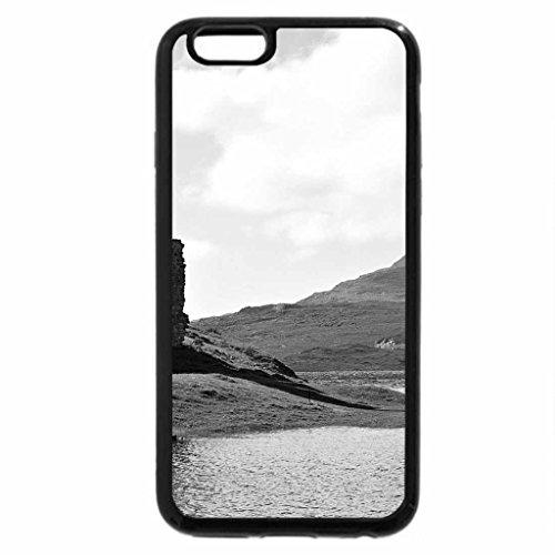 iPhone 6S Plus Case, iPhone 6 Plus Case (Black & White) - Arovreck Castle, Scotland