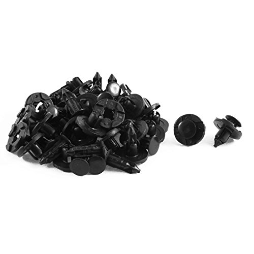 uxcell a15070100ux0462 Car Auto Radiator Cap Plastic Rivets 30 Pcs, Pack