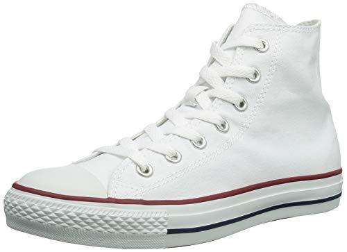 (Converse Chuck Taylor All Star High Top Optical White M7650 Mens)