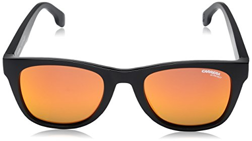 Adulto PPR Sol de Unisex 5038 51 UZ S Carrera Metallic Gafas Bk Red Fl Negro qw8HYZt