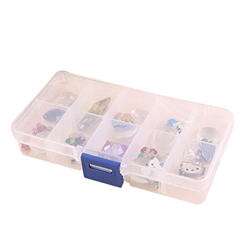 Diamond Spinner Rings - Clearance 10 Slot Case Jewelry Rings Display Box Jewelry Storage