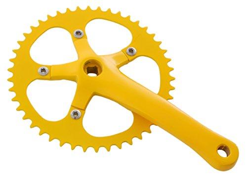 Vilano Fixed Gear Bike Cranks Crankset Alloy 1/8
