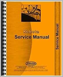 Kubota       L345    L345DT Tractor Service Manual  Amazon  Books