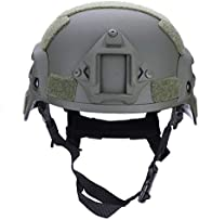 Tactics Helmet, Light Weight Adjustable Cycle Helmet for Bike Riding Safety CS Sports