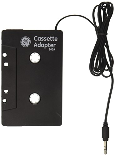GE 73627 Cassette Adapter (Black) (Ge Cassette Adapter)