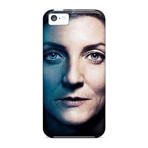 DnFlYav-5207 Case Cover Protector For Iphone 5c Game Of Thrones Catelyn Stark Case