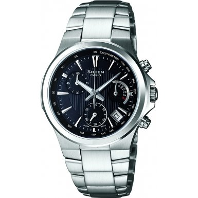 Casio SHE-5019D-1AEF Ladies SHEEN Chronograph Watch