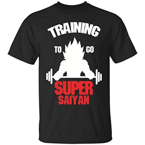 Dragon Ball Z T-Shirt | Training To Go To Super - Balls Go