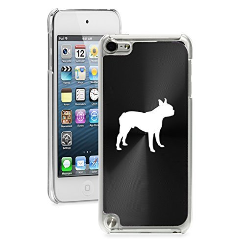 Price comparison product image DIA Apple iPod Touch 5th / 6th Generation Hard Back Case Cover Boston Terrier (Black)