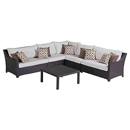 Amazon.com: RST marcas Deco Seccional sofá de esquina y mesa ...