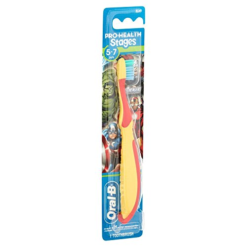 Oral-B Kids Toothbrush, Pro-Health Stages Marvel Avengers for Children Ages 5-7 Years Old, Soft (Pac - http://coolthings.us