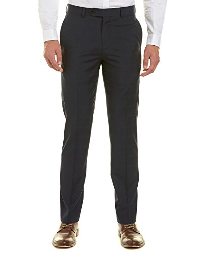 Brooks Brothers Mens Regent Fit Suit Trouser, 36X32, Blue - Brooks Brothers Men Pants