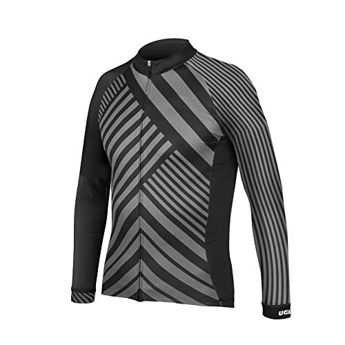 (Uglyfrog H10ZRMens Cycling Top Autumn Winter Cycling Clothing Warm Jacket & Jersey Outdoor Sportwear)