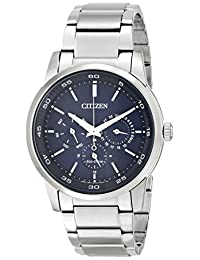 Citizen Men's BU2010-57L Dress Analog Display Japanese Quartz Silver Watch