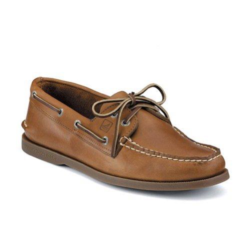 Sperry Men's A/O 2 Eye Boat Shoe,Sahara,14 M US