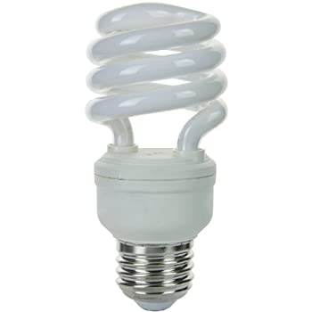 Sunlite SMS13/E/27K SMS13/E/27K 13-watt Super Mini Spiral Energy Star Medium Base CFL Light Bulb, Warm White