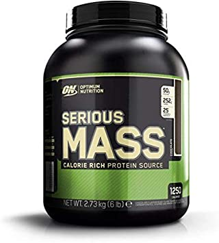 Optimum Nutrition Serious Mass, 6 LB Dose (Chocolate): Amazon ...