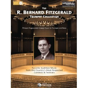 R. Bernard Fitzgerald Trumpet Collection Contest And Festical Performance Solos