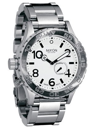 Nixon 42-20 Watch – Men's White, One Size