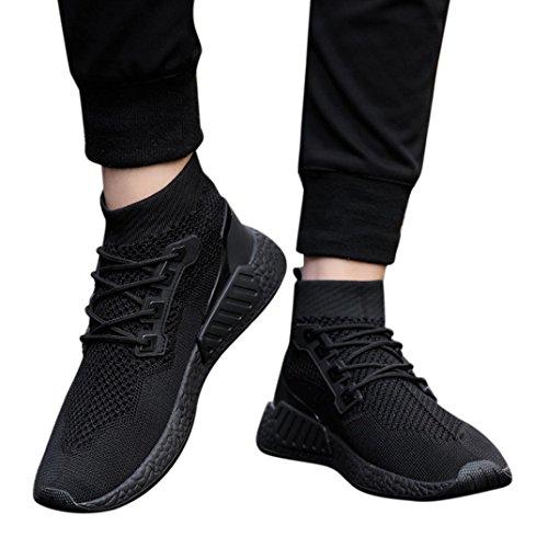 ins Rosennie Socken Sohle Schuhe Hilfe Neutral Basketballschuhe Turnschuhe Laufschuhe Männer Herren Hohe Rot Sportschuhe Gleiche Leichte Schuhe 2018 Jungen Fitness Weiche Schwarz Mode Air Mesh qxwCdffO