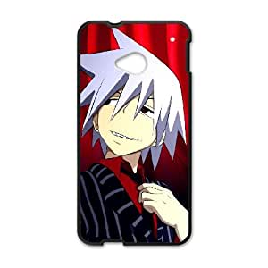 (MNGL) SOUL EATER HTC One M7 Cell Phone Case Black
