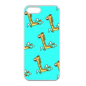 Welcome!Iphone 5/5S Cases-Brand New Design Cartoon Giraffe Printed High Quality TPU For Iphone 5/5S 4 Inch -05