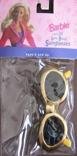 Barbie Child Size Sunglasses 100% UV Lens Block - Dupont Sunglasses