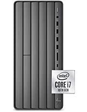 HP Envy Desktop Computer, Intel Core i7-10700, 16 GB RAM, 1 TB Hard Drive & 512 GB SSD Storage, Windows 10 Pro (TE01-1022, 2020 Model)