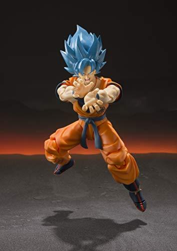 TAMASHII NATIONS Bandai S.H. Figuarts Super Saiyan God Super Saiyan Goku Dragon Ball Super: Broly Action Figure