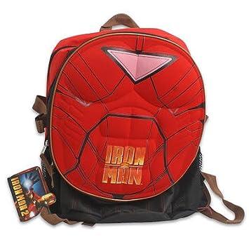 """Marvel Mochila hombre de hierro - el pecho moldeado (16"""" bolsa de la escuela"""