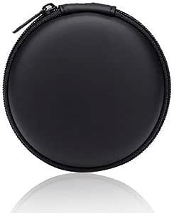 Earphone Case Bag Hard EVA Sport Wireless Headset Carrying Case for Bose QC20 QC20i SoundSport SIE2 SIE2i IE2 IE3 SoundSport, Shure SE215, JayBird X2, Sennheiser IE8 Eeaphones