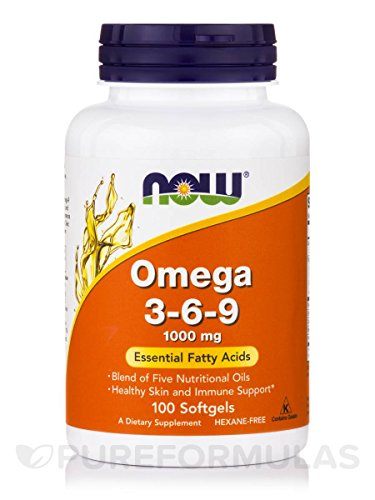 NOW Foods Omega 3 6 9 1000