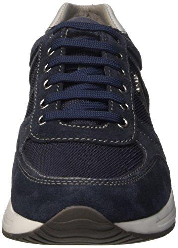 Geox U Dennie B, Sandalias con Plataforma para Hombre Azul - Blu (Navy)