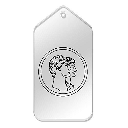 X Clear Large Mm 99 tg00067248 10 Tags van currency' 51 'Roman gwIpCdq