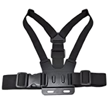 SODIAL(R) Adjustable Elastic Chest Strap Mount Harness for GoPro HD Hero 12 3 Sport Camera