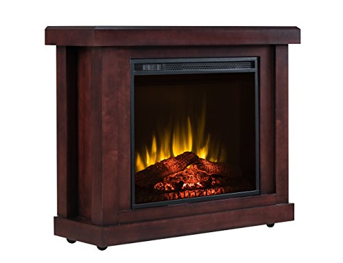 ventless gas heater red flame - 8