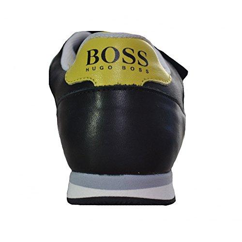 Hugo Boss Kids Black Velcro Trainers 35 (Euro)