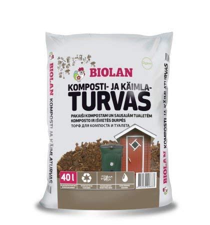 Agande Biolan Biokompost - Inodoro Torf para Inodoro de ...