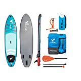 "Freein Explorer Inflatable Stand Up Paddle Board Double Layer Light SUP 10'2"" Long"