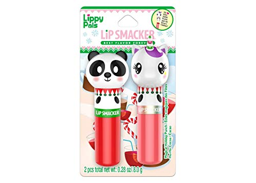 Lip Smacker Lippy Pal Lip Balm Duo Unicorn Panda
