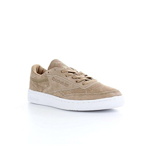 Reebok Mens Club C 85 Fashion Sneaker Crema