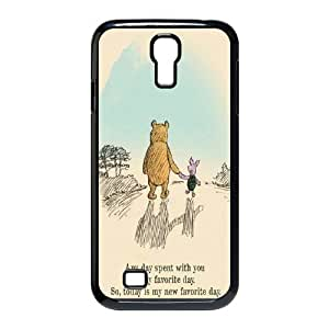 Winnie the pooh,cartoon winnie, winnie and tiger series protective case cover For SamSung Galaxy S4 Case LHSB9288404