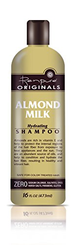 Renpure Almond Milk Hydrating Shampoo, 16 Ounce