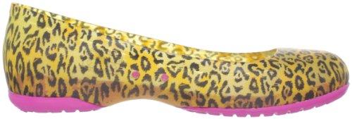 Crocs Ctas Speciality - Bailarinas de material sintético mujer amarillo - Gelb (Burst/Fuchsia)