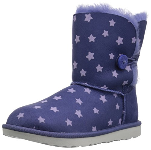 UGG Girls K Bailey Button II Stars Pull-on Boot, Nocturn, 2 M US Little Kid by UGG