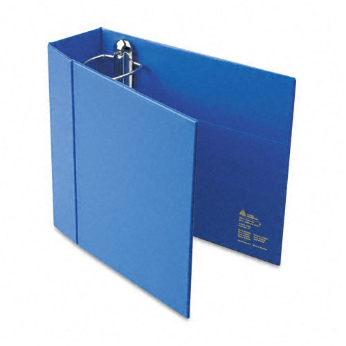 (Avery : Heavy-Duty Vinyl EZD Ring Reference Binder, 4in Capacity, Blue -:- Sold as 2 Packs of - 1 - / - Total of 2 Each)