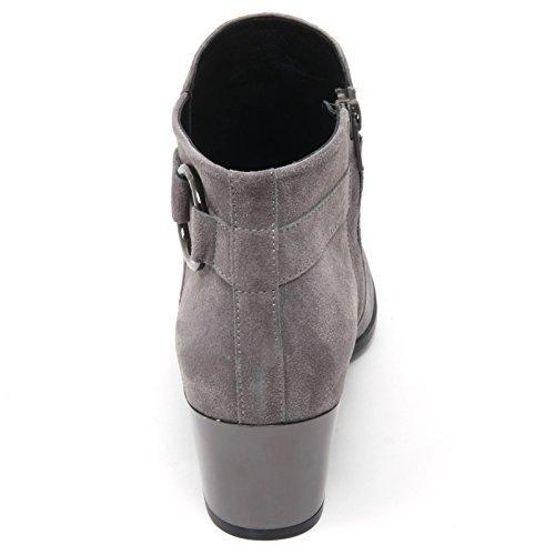 grigio B7414 stivaletto donna woman H272 boot tronchetto HOGAN shoe Grigio xnapx