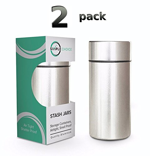 2x Stash Jar Airtight Container product image