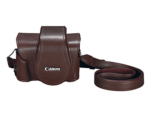 Canon Cameras US Deluxe Leather PSC-6300 New Camera Case, Black (3087C001)